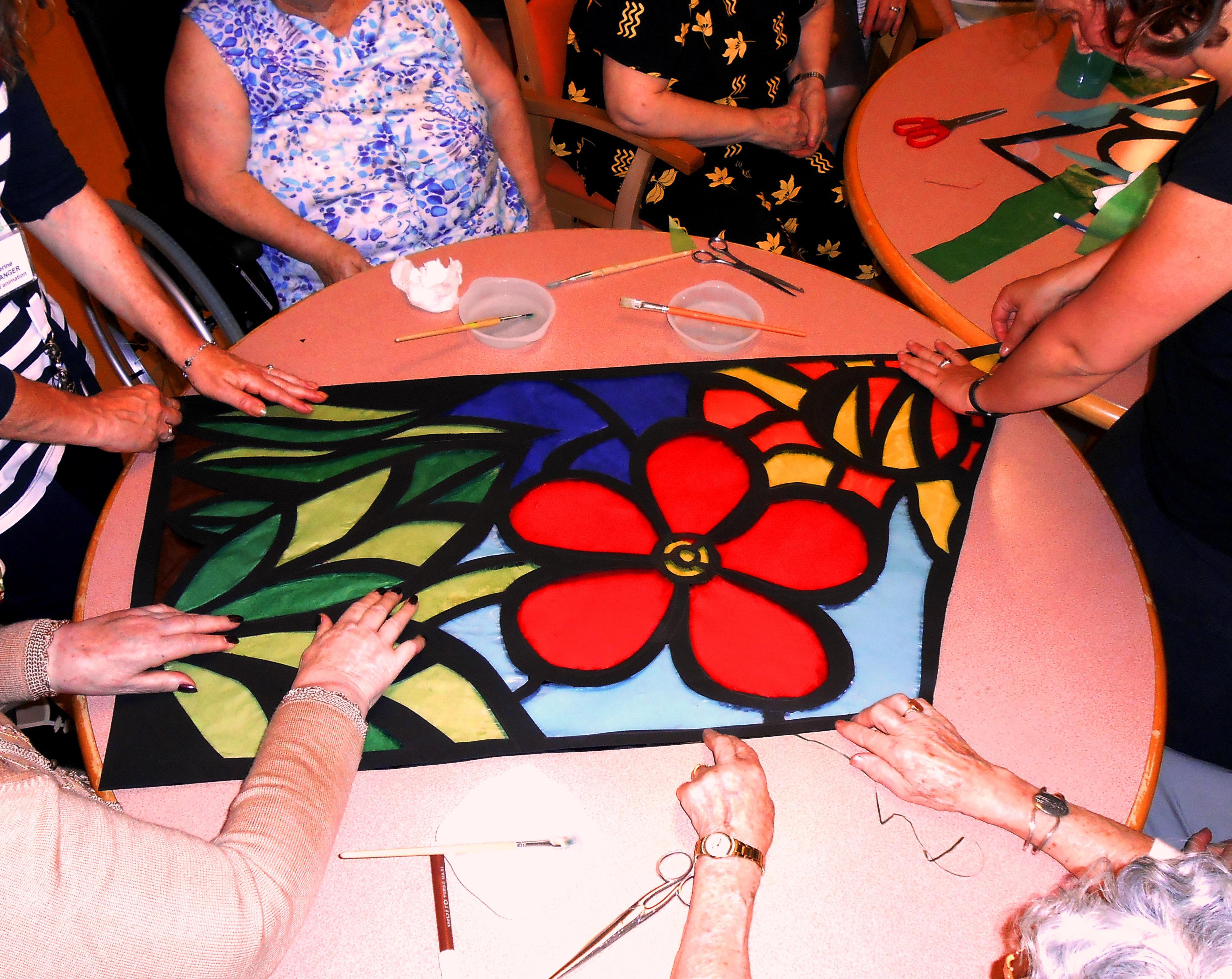 Comment s'organise une séance d'art-thérapie ?